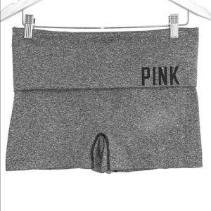 Pink Yoga shorts size large